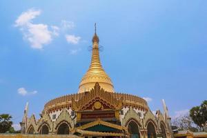 Kaba aye pagoda in yangon, birmania (myanmar) foto