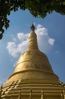 pagoda di shwemawdaw in bago myanmar foto