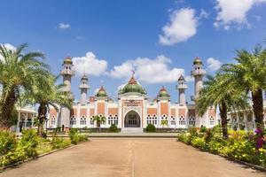 moschea centrale di pattani, thailandia foto
