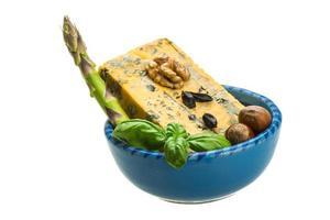 formaggio oro con muffa foto
