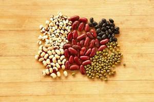 diversi tipi di cereali foto