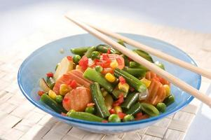 verdura wok foto