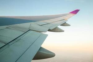 ala di aeroplani foto