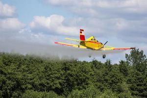 aereo pompiere foto