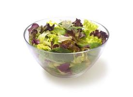 mescolare l'insalata foto