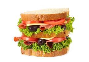 panino al salame foto