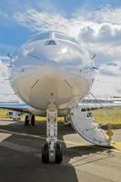 business jet di lusso foto