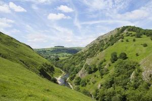 paesaggio del Derbyshire