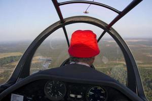 cabina di pilotaggio foto