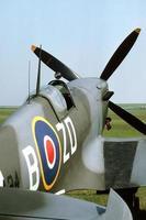 cabina di pilotaggio spitfire foto