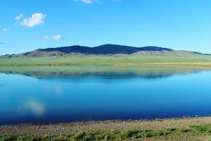 paesaggio mongolo foto