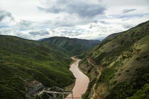 paesaggio cinese dello yunnan foto