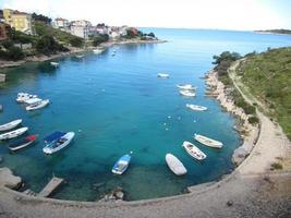 paesaggio della croazia foto
