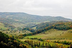 bellissimo paesaggio della Polonia meridionale