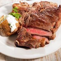 bistecca alla porterhouse foto