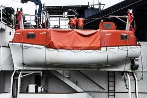 scialuppa di salvataggio a Anversa foto