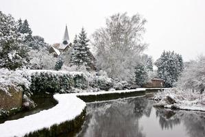 percorso invernale foto