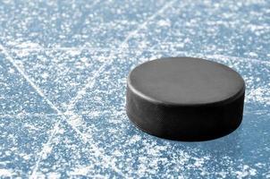 disco da hockey foto