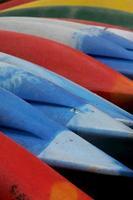 arcobaleno di kayak foto