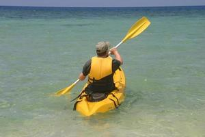 kayak nelle isole Figi foto