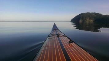 mattina in kayak foto