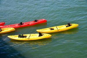 gruppo di kayak foto