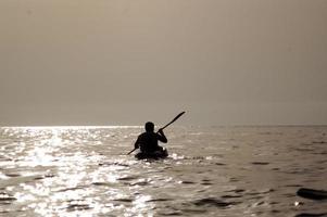canoa singola foto