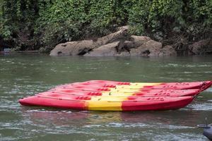 kayak colorato foto