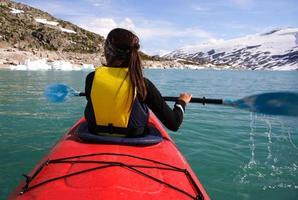 donna kayak foto