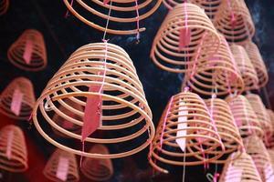 bastoncini d'incenso cinesi foto