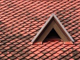 tetto di tegole foto