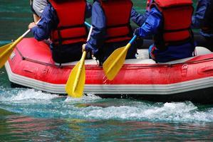 rafting su remando foto