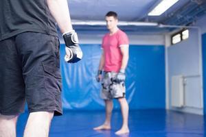 combattenti di arti marziali foto