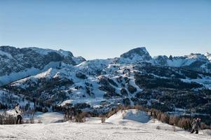 Alpi in inverno