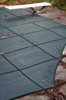 piscina sul cortile invernale foto