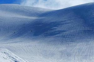 giappone alpi in inverno foto