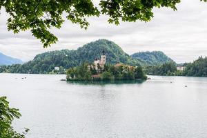 lago sanguinato foto