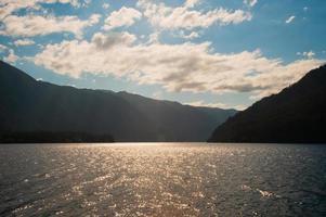 mezzaluna del lago foto