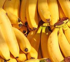 banana in vendita foto