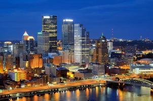 skyline di Pittsburgh