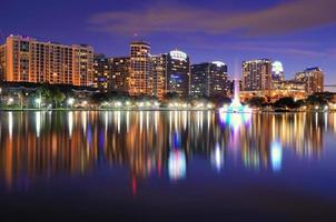 skyline di Orlando foto
