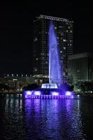 fontana del lago Eola foto