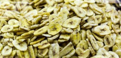 chips di banana foto