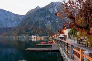 lago Hallstatt foto