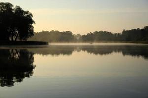 lago in polvere foto