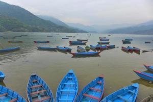 lago phewa nepal foto