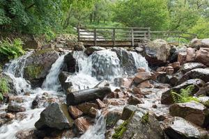 cascata del distretto dei laghi foto