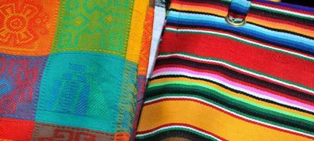 materiale tradizionale fatto a mano foto