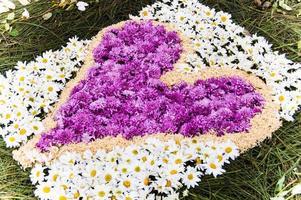 tappeto della settimana santa, antigua, guatemala foto