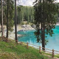 lago di carezza - karersee foto